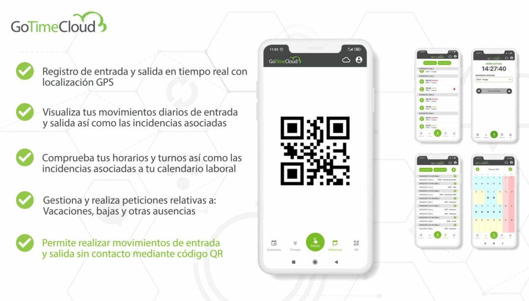 Nueva App de GoTime Cloud para iOS y Android