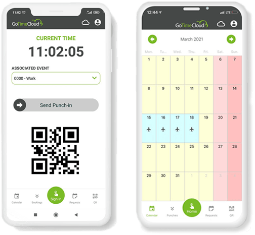 time tracking app, app control horario, Time tracking software, control horario, GoTime Cloud,