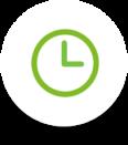Gran flexibilidad de horarios